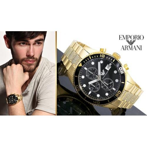 Schoudertassen Heren Armani : Emporio armani heren horloge