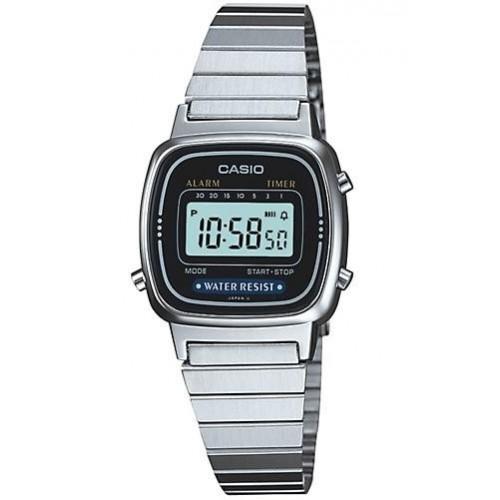 Casio LA670WA-1DF dames horloge