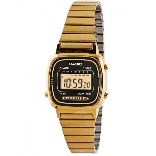 Casio LA670WGA-1DF dames horloge