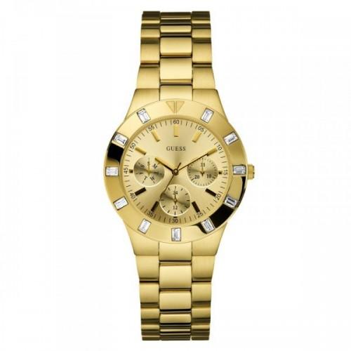 Guess Glisten W13576L1 Dames Horloge