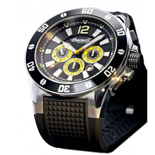 Ingersoll Brazos IN3221BK Heren Horloge