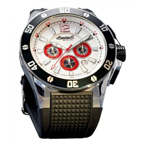 Ingersoll Brazos IN3221WH Heren Horloge