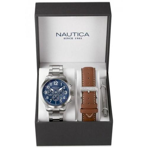 Nautica NAI18509G Heren Horloge