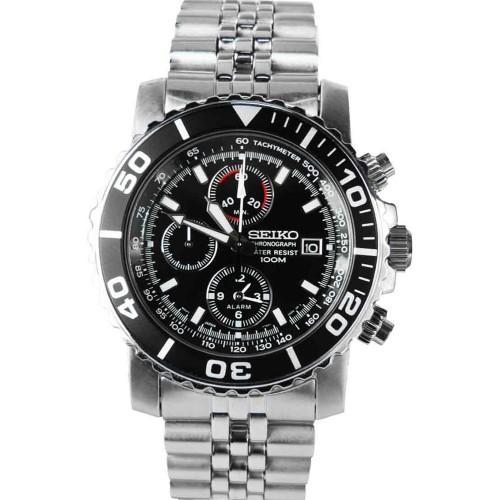 Seiko Alarm SNA225P1 Heren Horloge