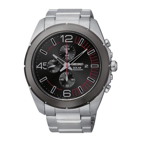 Seiko Solar SSC215P1 Heren Horloge