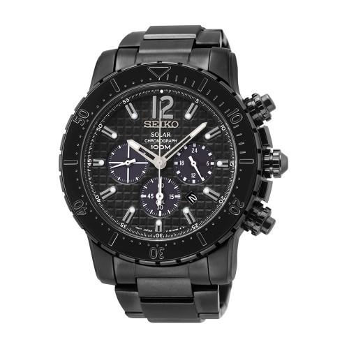 Seiko Solar SSC225P1 Heren Horloge