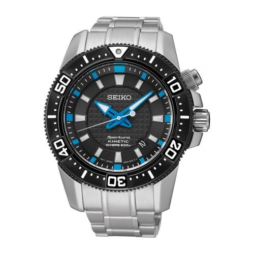 Seiko Sportura Kinetic Diver's SKA561P1 Heren Horloge